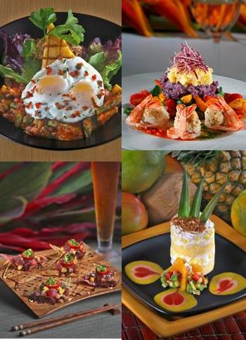 Sea House Restaurant Food Montage