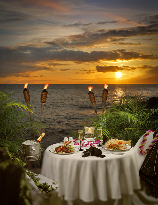 Romantic Dinner For Two Recipes: Table For Two~Seaside